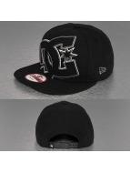 DC snapback cap Double Up zwart