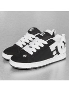 DC Sneaker Court Graffik schwarz