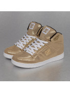 DC Sneakers Rebound High gold colored