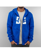 DC Sweat à capuche zippé Star bleu