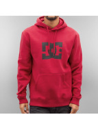 DC Sweat capuche Star rouge