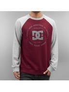 DC Swetry Rebuilt Raglan czerwony