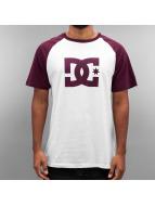 DC T-Shirt Star Raglan blanc