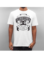 DC T-Shirt New From Front blanc