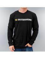 DC T-Shirt manches longues Minimal noir