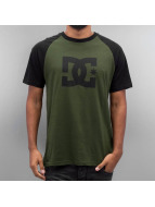 DC t-shirt Star Raglan olijfgroen