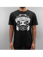DC T-Shirt New From Front schwarz