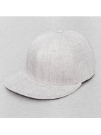 Decky USA Casquette Fitted Retro Fitted gris