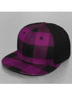 Decky USA Casquette Flex Fitted Flat Bill pourpre