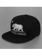 Decky USA Fitted Cap California schwarz