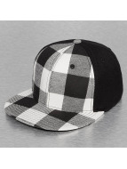 Decky USA Flexfitted Cap Plaid Flat Bill schwarz