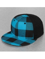 Decky USA Flexfitted Cap Plaid Flat türkis
