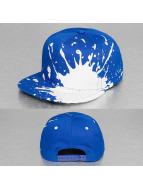 Decky USA Snapback Cap Splatter blau