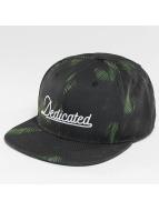 DEDICATED snapback cap Dark Leaves zwart