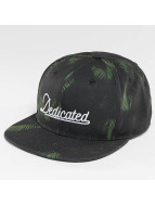 DEDICATED Snapback Caps Dark Leaves musta
