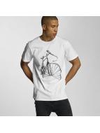 DEDICATED T-Shirt Sketch Bike blanc