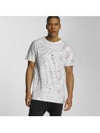 DEDICATED T-Shirt Spray Drips blanc