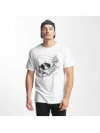 DEDICATED T-Shirt Coffee Vinyl blanc