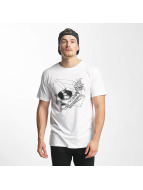 DEDICATED T-Shirt Coffee Vinyl white