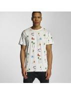 DEDICATED T-Shirts Beach Life beyaz