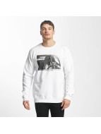 DEDICATED Car Crash Sweatshirt White