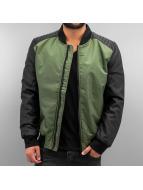 DEF Демисезонная куртка Two Tone оливковый