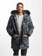DEF Зимняя куртка Bomber камуфляж