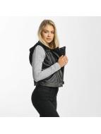 DEF Кожаная куртка Mysie черный