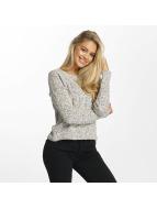 DEF Пуловер Croped серый