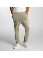 DEF Спортивные брюки Used бежевый
