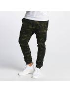 DEF Спортивные брюки Cargo камуфляж
