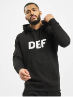 DEF Hoodies Til Death sort