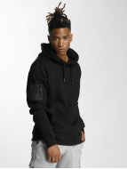 DEF Hoody Upper Arm Pocket zwart