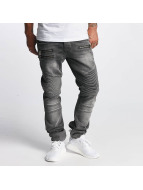 DEF Jeans Straight Fit World gris