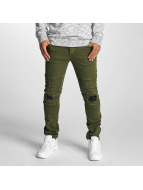 DEF Jeans Straight Fit Elom olive