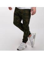 DEF Jogging kalhoty General olivový