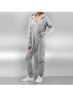 DEF jumpsuit Basic grijs