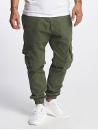 DEF Pantalon cargo Kindou brun