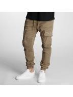DEF Pantalon chino Cargo beige