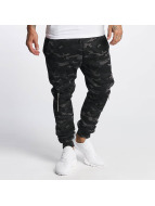 DEF Pantalón deportivo Biker gris