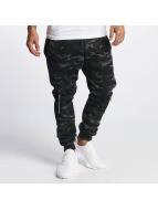 DEF Pantalone ginnico Biker grigio