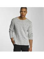 DEF Pullover Knit blau
