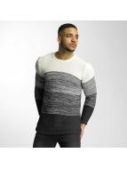 DEF Pullover Striped gray