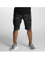 DEF Shorts Sweat grau