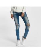 DEF Skinny Jeans Used modrý