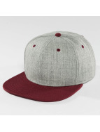 DEF Snapback Caps Basic šedá