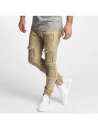 DEF Straight Fit Jeans Monaco béžový