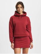 DEF Sukienki Cropped czerwony