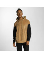 DEF Sweat capuche Softy beige