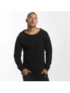 DEF Swetry Rough czarny